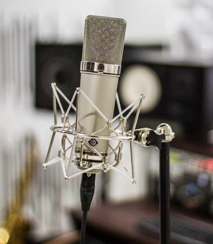 TsMusicStudio microfoon